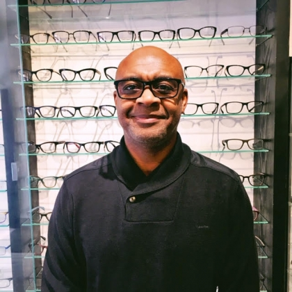 Faces & Places of Danforth/Broadview: Clive @ Bloor Eyewear