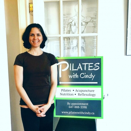Faces & Places on the Danforth: Cindy @ PilatesWithCindy