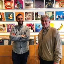 Faces & Places on the Danforth: Chris and Gunnar @planetofsoundhifi